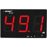 SNDWAY SW-525B Digitales Schallpegelmesser Noise Decibel Meter 30 ~ 130dB Großes Display Wandbehang Typ