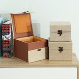 Deffrun Cotton مواد Watch Boxes Copper Buckle Watch Storage