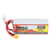 ZOP Power 11.1V 8000mAh 90C 3S Lipo Batterie XT60 Plug pour RC Racing Drone