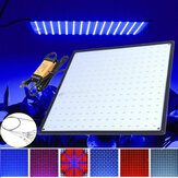 225 LED Grow Light Lamp Ultradunne Paneel voor Hydrocultuur Indoor Plant Veg Flower AC85-265V