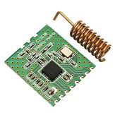 CC1101-868MHz 2-3.6V RF Low Power UHF Wireless Transceiver Module 1.2K To 500kps 64 Bytes SPI Interface Wake-On-Radio Support FSK GFSK ASK/OOK And MSK