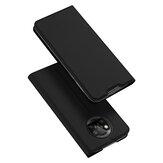 DUX DUCIS Pour POCO X3 Etui NFC Flip magnétique avec support de fente pour cartes Etui de protection en cuir PU antichoc | Non original