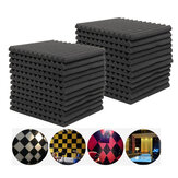 6Pcs 12Pcs Acoustic Soundproof Foam Sound Stop Absorption for KTV Audio Room