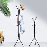 6/9 Ganchos Stand Cabide Rack Árvore Chapéu Jaqueta Guarda-chuva Pano cabide Titular De Armazenamento De Metal