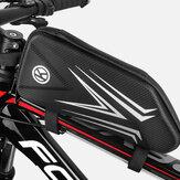 एमटीबी रोड बाइक के लिए बाइक फ्रंट फ्रेम बैग वॉटरप्रूफ रिफ्लेक्टिव बाइक बैग साइकिलिंग फोन बैग