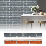 Waterproof 3D Effect Wallpaper Stack Stone Brick Wallpaper Textured Decoration