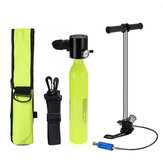 SMACO Scuba Diving Reserve Air Tank Set Hand Pump أكسجين Tank Cylinder Mini Operated Pump