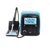 5100C 75W LCD Akıllı Kurşunsuz Lehimleme İstasyon Sabit Sıcaklık Dijital Kaynak Lehimleme USB arabirimli Demir