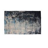 Niebiesko-szary abstrakcyjny mały bardzo duży dywan na podłogę dywaniki maty do salonu sypialni