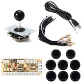 Joystick Push Button Game Controller DIY Kit for Arcade Fighting Video Game PC