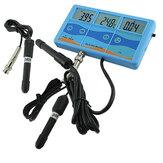 7 في 1 المهنية LCD جودة المياه تستر PH ℃ ℉ ORP EC CF TDS اختبار متر
