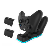 JYS X129 Gamepad Charger Dual Charging Stand for Xbox Sereies X S Gamepad with Rechargeable Battery Pack for Game Controller