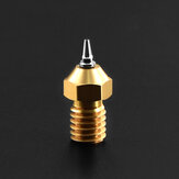 TWO TREES® 1Pcs M6 Thread Brass Nozzle Adapter Set 0.2/0.3/0.4/0.5mm Tip 1.75mm filament for 3D Printer