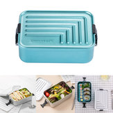 Jordan&Judy 1.4L Aluminum Lunch Box Bento Case Food Meal Container Camping Picnic