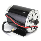 24V 500W 28.5A Elektrische Brushed Motor 2500Rpm w / bracket voor Scooter E-Bike Mini Bike Go Kart