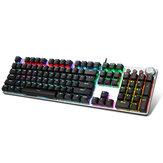 AULA F2088 104 tasti Meccanico Tastiera RGB retroilluminata Punk Tastiera da gioco per sport elettronici Riposo per le mani
