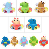 Multi-Style Kids Baby Support Seats Sit Up Soft Chair Sofa Cartoon Animal Kids Learning To Sit Plush Pillow Toy
