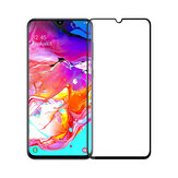 Mofi 2.5D Curved Edge Tempered Glass Screen Protector For Samsung Galaxy A70 2019 Full Screen Film