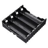 4 slots 18650 batteri holder plastik kasse opbevaringsboks til 4 * 3,7V 18650 litium batteri med 8Pin