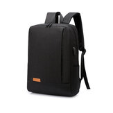 15,6 polegadas Carregador USB Mochila Grande Capacidade Outdoor Business Waterproof Laptop Bolsa