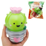 Momocuppy Cactus Bloempot Squishy 18cm Slow Rising With Packaging Collection Soft Speelgoed