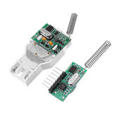 433MHZ/315MHZ Self-powered Launch Receiver Board Module Set For Wireless Doorbell Wall Switch TX-ZD001+RX-ZD001