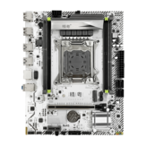 JGINYUE X99M-PLUS Motherboard LGA 2011-3 Support DDR3 and DDR4 RAM Xeon E5 V3&V4 Processor SATA PCI-E M.2 NVME Slot M-ATX Motherboard
