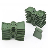 100Pcs Plastic Shade Cloth Stof Snap Clips Butterfly Shape Garden Greenhouse Shade Net Clips
