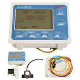 """Miernik LCD 1/2 """"z kontrolą przepływu wody z czujnikiem przepływu i elektrozaworem"""
