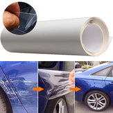 40x200cm bord de la porte de voiture clair de protection satiné finition vinyle wrap garde film feuille transparente autocollant couverture manteau