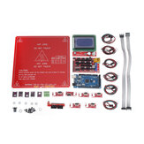 Reprap Ramps 1.4 Kit with Mega 2560 r3 + Heatbed MK2B + 12864 LCD Controller + 5*DRV8825 + 6*Mechanical Switch with Cables for 3D Printer