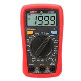 UNI-T UT33D+ Multimètre numérique NVC Testeur de résistance de courant de tension Buzzer LCD Rétroéclairage