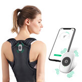 KALOAD Back Trainer Posture Corrector with Phone App Control Support Bandage Shoulder Corset Vibration Alerts Discrete Strapless Posture Correction Belt