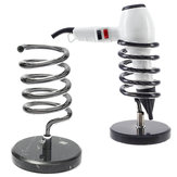 Salon Spiral Dryer Holder Hair Dryers Straighteners Desk Top Desk Mount Stand
