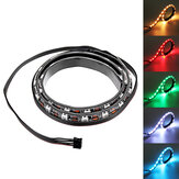 Coolmoon 40 cm Magnetic RGB LED Strip Light com 30pcs LED para computador PC de mesa Caso