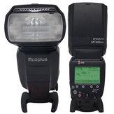 Mcoplus MT600SC GN62 Master Flash HSS 1 / 8000S E-TTL Flashgun Flash Speedlite para Canon EOS DSLR 500D 550D 600D 650D 700D 70D 7D