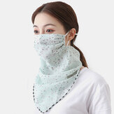 Sunscreen Scarf Mask Breathable Quick-drying Summer Outdoor Riding Mask Printing Neck