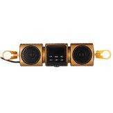 12V bluetooth motorfiets mp3 stereo luidspreker audiospeler USB AUX radio waterdicht