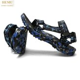 HEMU Men Sandalen Atmungsaktive Anti-Rutsch-Massage Outdoor Leisure Beach Sandalen Slipper
