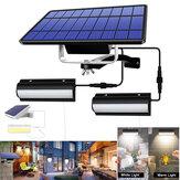 Lampu Dinding Surya LED Sensor Gerak Tahan Air Luar Ruangan Lampu Dinding Inframerah Tahan Air IP67