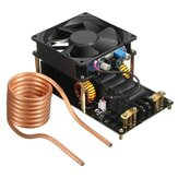 Geekcreit® 1000W 20A ZVS Indukcyjna maszyna grzewcza Wentylator chłodzący PCB Rura miedziana 12-36V