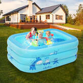 120x80x35cm piscinas infláveis casa família jardim bacia de natação colchão de ar