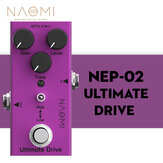 NAOMI Mini Effect Pedal DC 9V ABS Knob Black Color True Bypass Electric Guitar Pedal Use