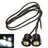 9W LED Eagle Eye Białe światło dzienne DRL Rewers Backup Light 12V Motorcycle Car