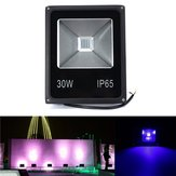 30W UV LED Projector Flood light 365/375/385/395/405 / 415NM Outdoor Waterproof Lamp AC85-265V