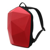 KINGSLONG Män Polygon Travel Bag Solid Casual Ryggsäck
