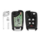 Keyless Entry Remote Fob Transmitter 13500221 voor Malibu Chevrolet Camaro Cruze