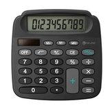 Digoo DG-MC1 True Solar Power Energy Electronic Mini Calculator With High Definition LCD