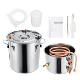 2GAL/3GAL/5GAL/8GAL Moonshine Still Spirits Kit Water Alcohol Distiller Boiler Home Brewing Kit Stainless Steel DIY