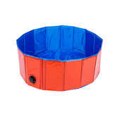 Opvouwbarehondzwembadhuisdierbadopblaasbare zwembad opvouwbare zwembad voor honden katten kinderen draagbare duurzaam pvc composiet doek